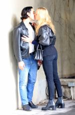 CHLOE SEVIGNY and Ricky Saiz Out Kissing in New York 01/12/2017