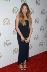 CHRISSY TEIGEN at 28th Annual Producers Guild Awards in Beverly Hills 01/28/2017