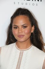 CHRISSY TEIGEN at Art of Elysium Presents Stevie Wonder's Heaven in Los Angeles 01/07/2017