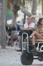 CHRISSY TEIGEN on the Set of a Photoshoot in Miami 01/24/2017