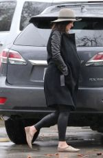 CHRISTINA MCLARTY Out and About in Los Angeles 01/20/2017
