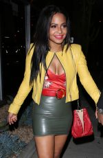 CHRISTINA MILIAN at Bootsy Bellows in West Hollywood 01/14/2017