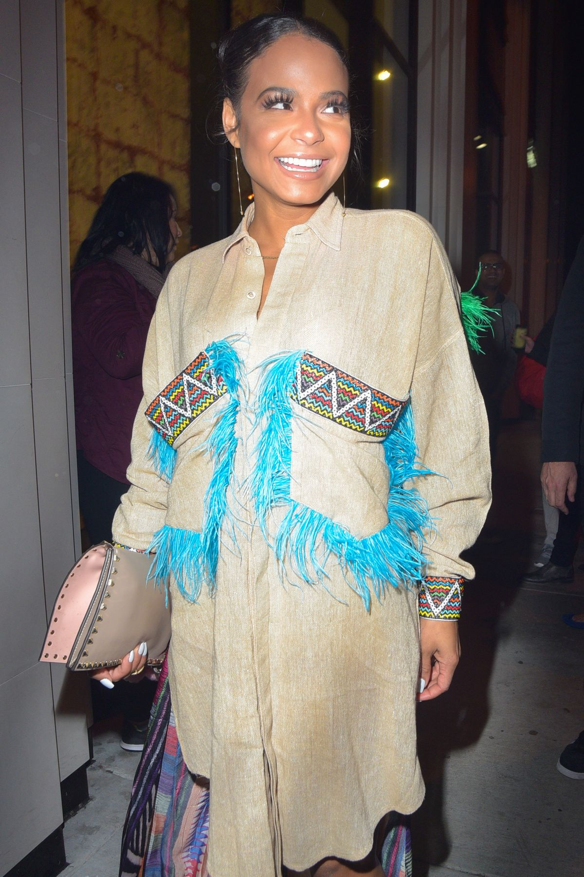 CHRISTINA MILIAN at Catch LA in West Hollywood 01/26/2017