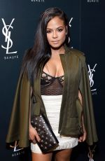CHRISTINA MILIAN at YSL Beauty Club Party in Los Angeles 01/10/2017