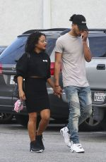 CHRISTINA MILIAN Out in Los Angeles 01/09/2017