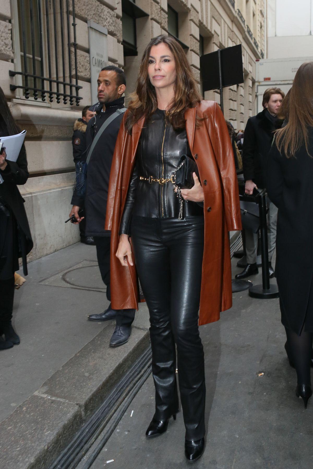 CHRISTINA PITANGUY at Elie Saab Fashion Show in Paris 01/25/2017