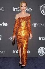CHRISTINA RICCI at Warner Bros. Pictures & Instyle's 18th Annual Golden Globes Party in Beverly Hills 01/08/2017