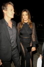 CINDY CRAWFORD at Catch LA in West Hollywood 01/10/2017