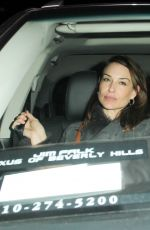 CLAIRE FORLANI Leaves a Dinner in West Hollywood 01/21/2017