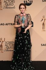 CLAIRE FOY at 23rd Annual Screen Actors Guild Awards in Los Angeles 01/29/2017