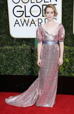 CLAIRE FOY at 74th Annual Golden Globe Awards in Beverly Hills 01/08/2017