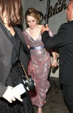 CLAIRE FOY at Delilah in West Hollywood 01/08/2017