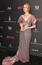 CLAIRE FOY at Weinstein Company and Netflix Golden Globe Party in Beverly Hills 01/08/2017