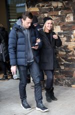 CLAIRE HOLT Out and About in Park City 01/20/2017