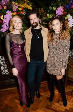 CLARA PAGET at Lalit Hotel Launch Party in London 01/26/2017