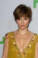 CLARE BOWEN at Hulu's Winter TCA 2017 in Los Angeles 01/07/2017