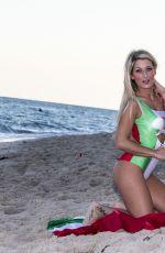 CLAUDIA ROMANI and ERIKA TESSAROLO on the Beach in Miami 01/03/2017