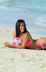 CLAUDIA ROMANI in Bikini on the Beach in Miami 01/27/2017