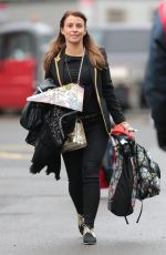COLEEN ROONEY Arrives at Old Trafford in Manchester 01/29/2017