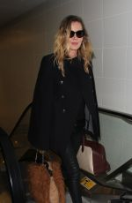 CONNIE NIELSEN at LAX Airport in Los Angeles 01/12/2017