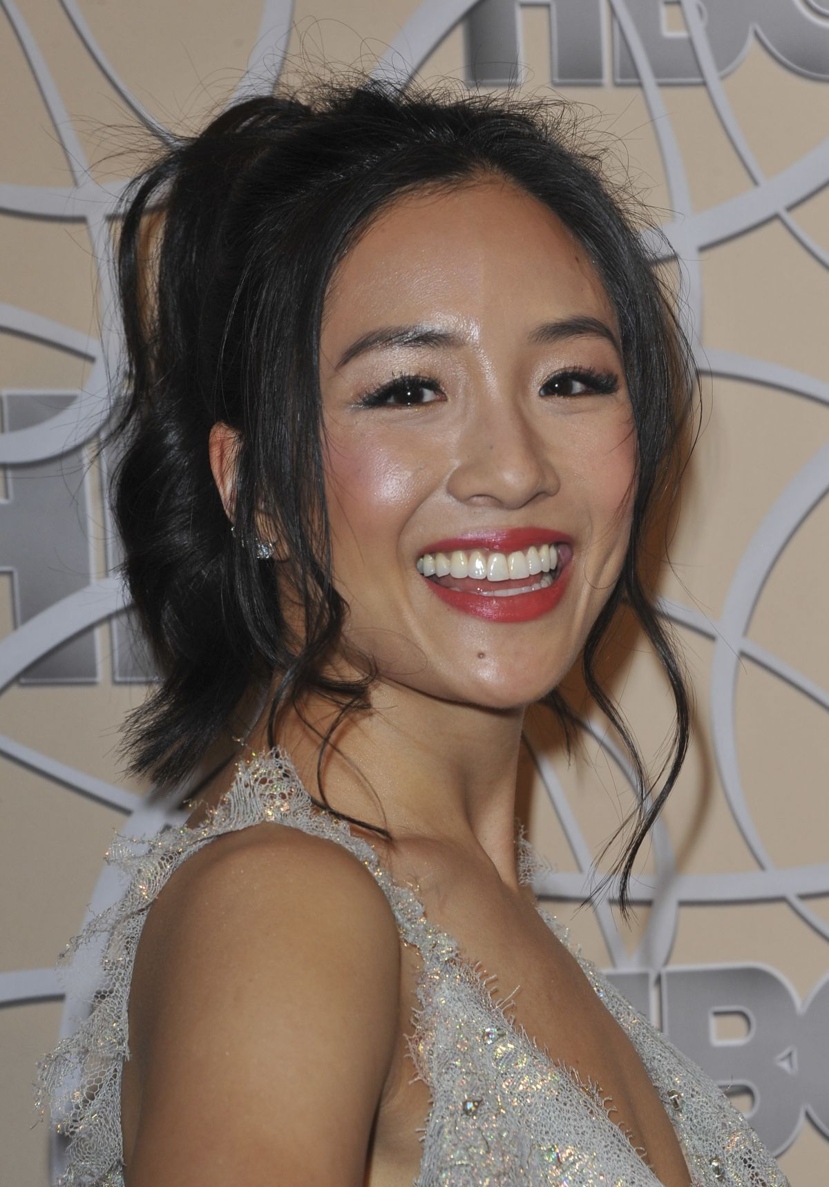 CONSTANCE WU at HBO Golden Globes Party in Beverly Hills 01/08/2017