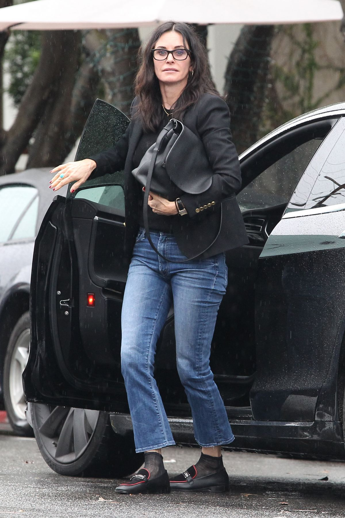 COURTENEY COX in Jeans Out in West Hollywood 01/12/2017 ...