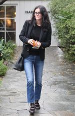 COURTENEY COX Leaves a Office in West Hollywood 01/12/2017