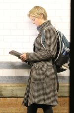 CYNTHIA NIXON Out and About in New York 01/12/2017