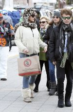 DAISY FUENTES Out for Shopping in Telluride 12/29/2016