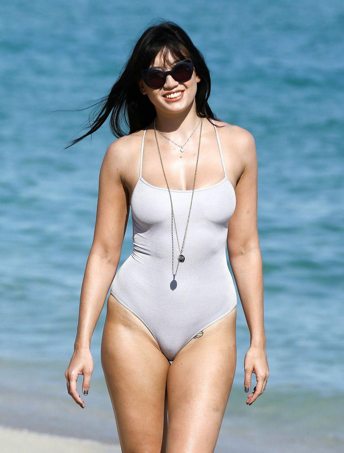 Watch Daisy lowe bikini video