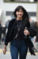 DAISY LOWE Leaves Her Hotel in Brimingham 01/19/2017