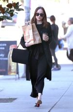 DAKOTA JOHNSON Out in West Hollywood 01/27/2017