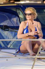 DANIELLA WESTBROOK in Bikini at a Boat in Marbella 01/22/2017