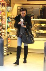 DANIELLA WESTBROOK Out Shopping in Liverpool 12/28/2016