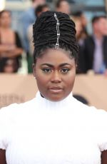 DANIELLE BROOKS at 23rd Annual Screen Actors Guild Awards in Los Angeles 01/29/2017