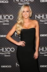 DANIELLE MOINET at NHL 100 Presented by Geico at Microsoft Theater 01/27/2017
