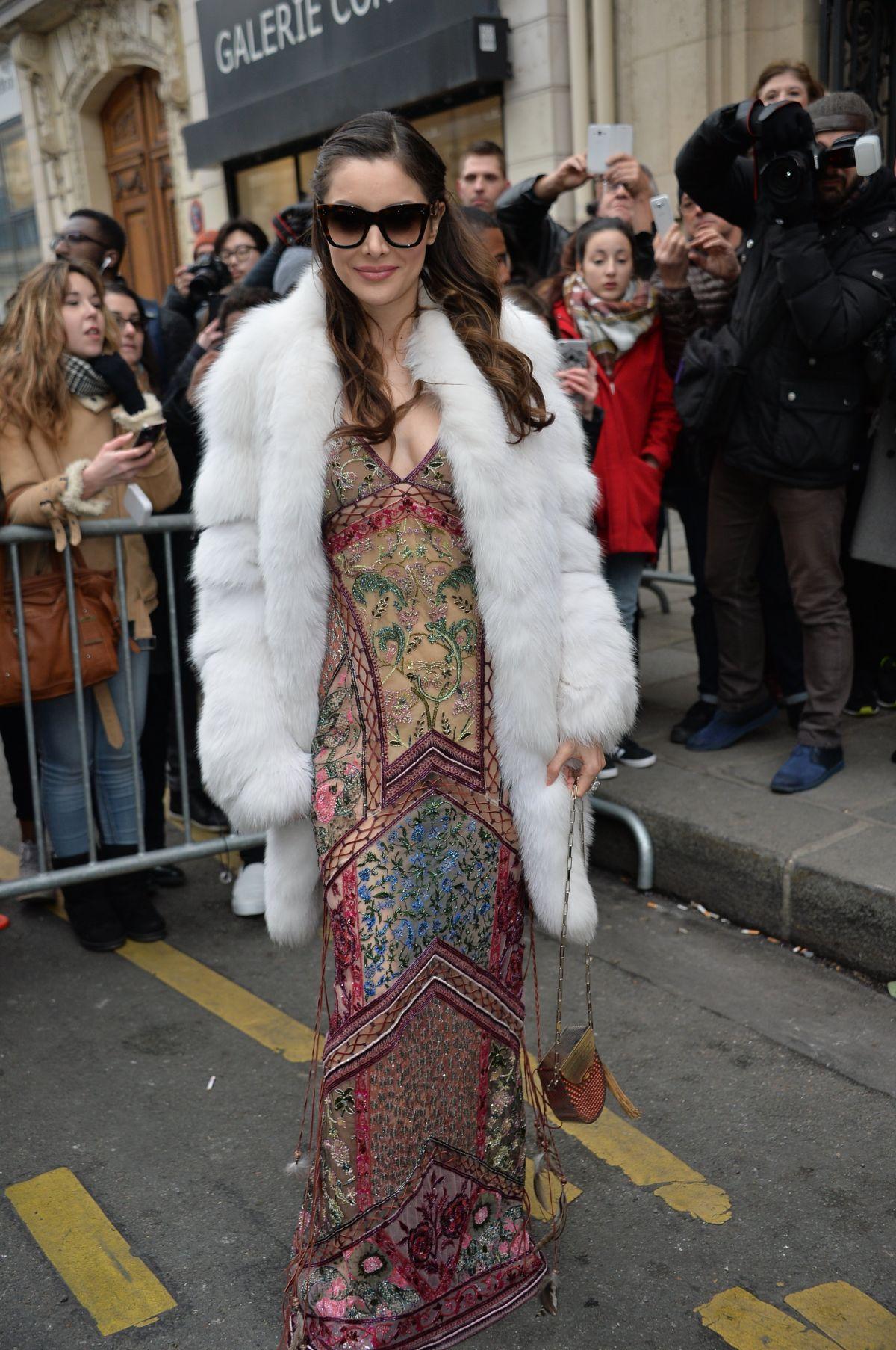 DEBORAH VALDEZ HUNG at Jean-paul Gaultier Fashion Show at Pais Fashion Week 01/25/2017