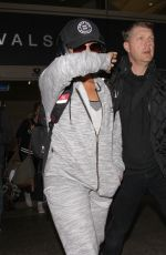 DEMI LOVATO at LAX Airport in Los Angeles 01/15/2017
