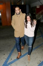 DEMI LOVATO Night Out in Los Angeles 01/01/2017