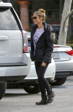 DENISE RICHARDS Out and About in Malibu 01/13/2017