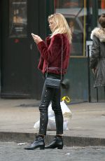 DEVON WINDSOR Out and About in New York 01/24/2017