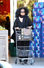DIANA ROSS Shopping at Bristol Farms in Beverly Hills 01/29/2017