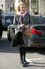 DIANE KRUGER Leaves Alfred Coffee & Kitchen in West Hollywood 01/11/2017