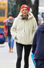 DIANE KRUGER Out and About in New York 01/18/2017