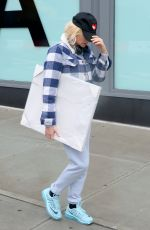 DIANE KRUGER Out Shopping in New York 01/17/2017
