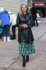 DIANNA AGRON Out and About in Park City 01/20/2017