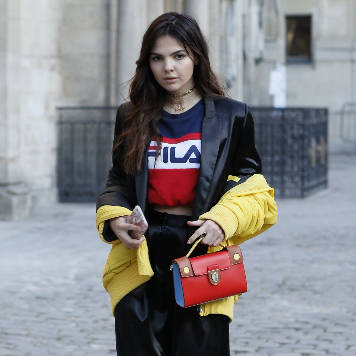 DOINA CIOBANU Arrives at Paul Smith Fashion Show in Paris 01/23/2017