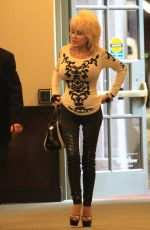 DOLLY PARTON Out and About in beverly Hills 01/03/2017