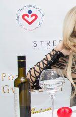 DOROTA DODA RABCZEWSKA at Strefa Restaurant in Warsaw 01/27/2017