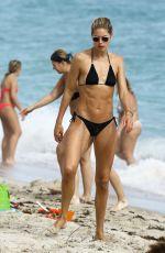 DOUTZEN KROES in Bikini at a Beach in Miami, 01/03/2017